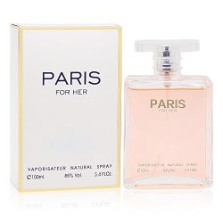 PARIS FOR HER, 3.4 fl oz. Eau de Parfum Spray for Women, Perfect Gift