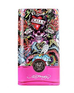 Ed Hardy Hearts & Daggers by Christian Audigier for Women – 3.4 oz EDP Spray (Package  ...