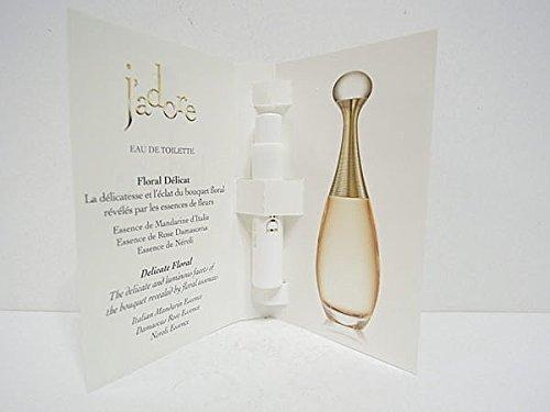 Christian Dior J'adore Eau de Toilette Spray for Women, Vial, Mini,0.03 Ounce