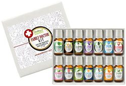 Family Doctor (14) Essential Oil Set 100% Pure, Best Therapeutic Grade – 14/10mL